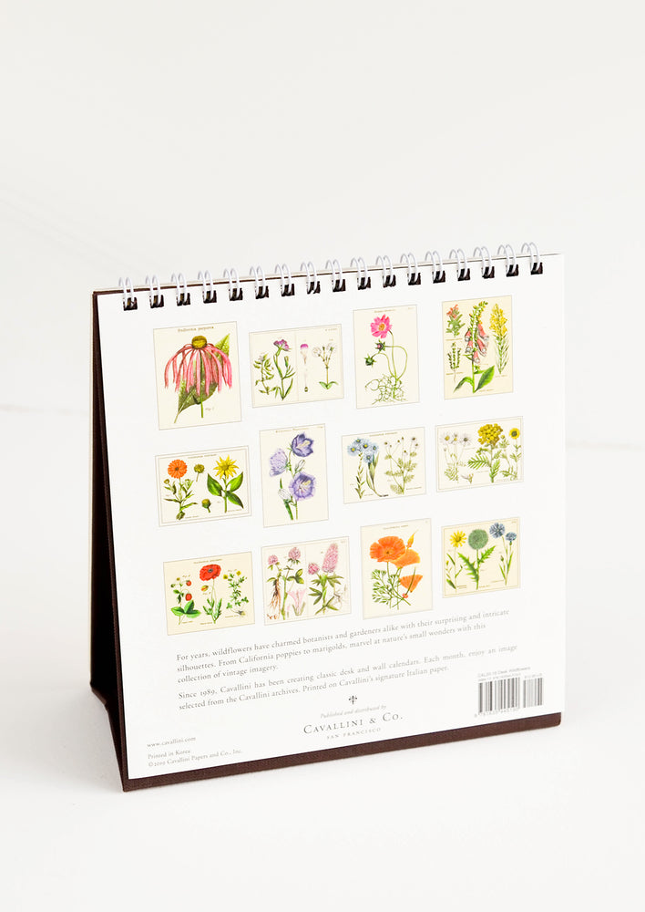 Wildflowers 2020 Desk Calendar in  - LEIF