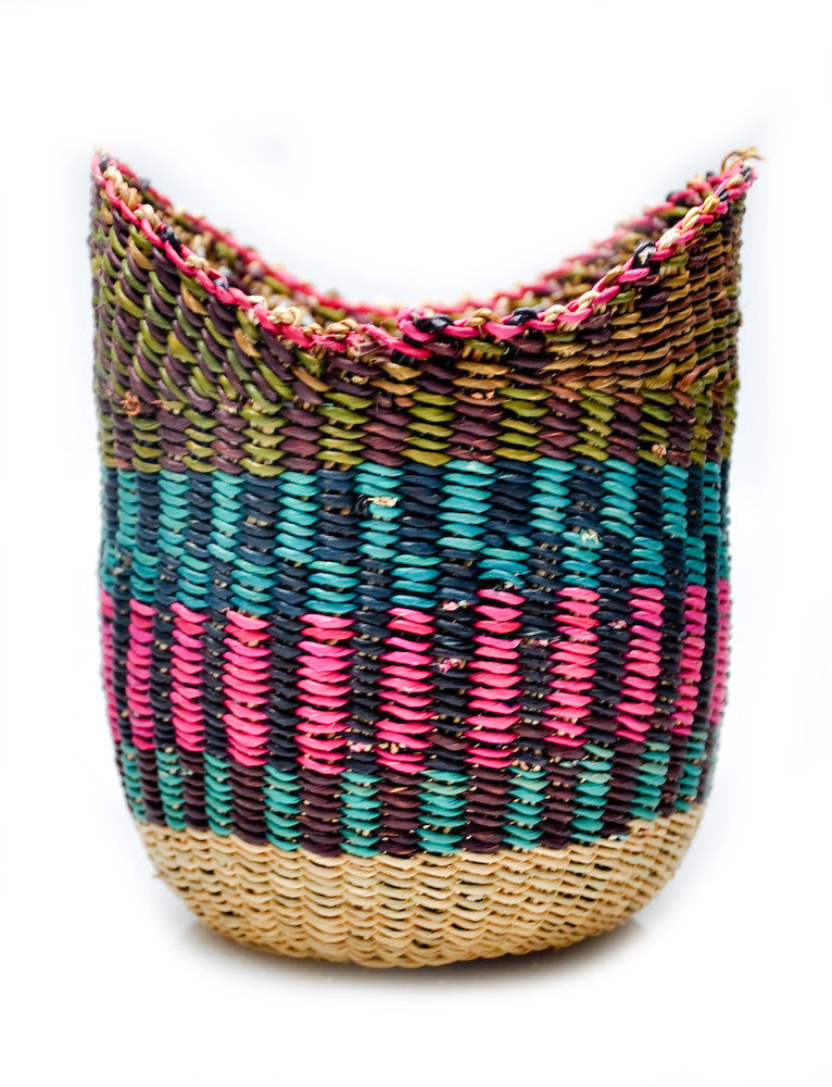 Winged Woven Basket - LEIF