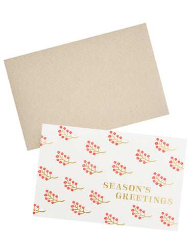 Holiday Berries Card Set - LEIF