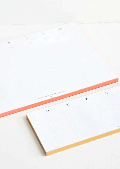 Days of the Week Planner Pad hover