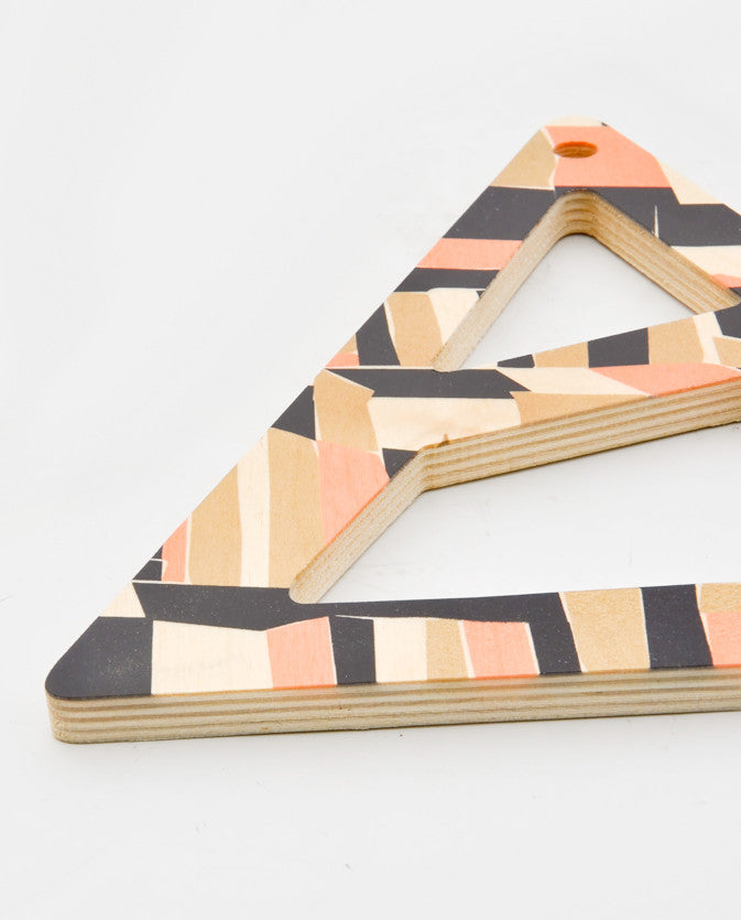 Checkerbox Triangle Trivet - LEIF