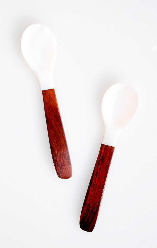 Shell & Wood Spoon - LEIF
