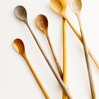 1: Wooden Tasting Spoon Set in  - LEIF