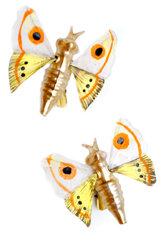 Woodland Moth Clip Ornament - LEIF