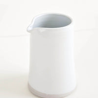 Glossy White / 16 oz: W/R/F Pitcher in Glossy White / 16 oz - LEIF