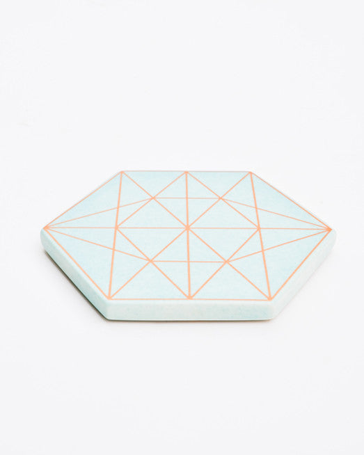 2: Copper Prism Trivet in  - LEIF