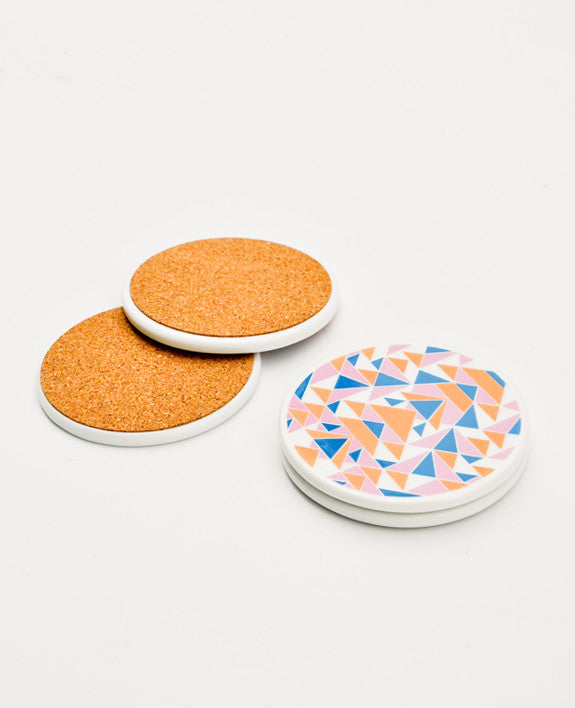 Kali Ceramic Coaster Set - LEIF