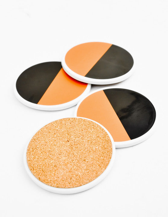 Semicircle Ceramic Coaster Set - LEIF