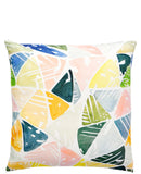 Emerald Triangles Pillow - LEIF
