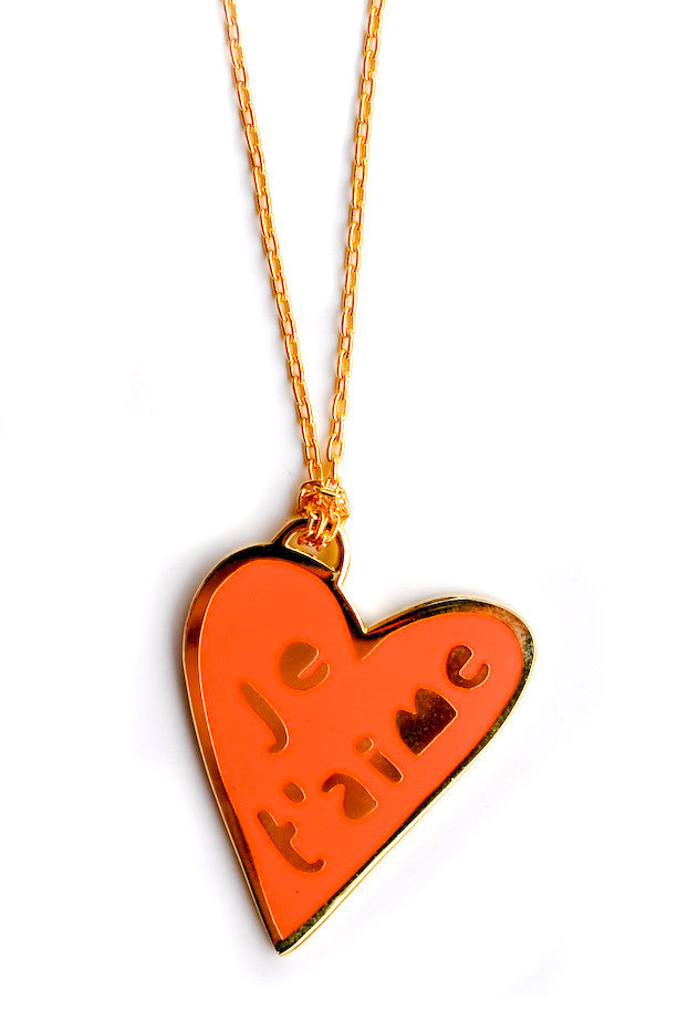 Je T'aime Pendant Necklace - LEIF