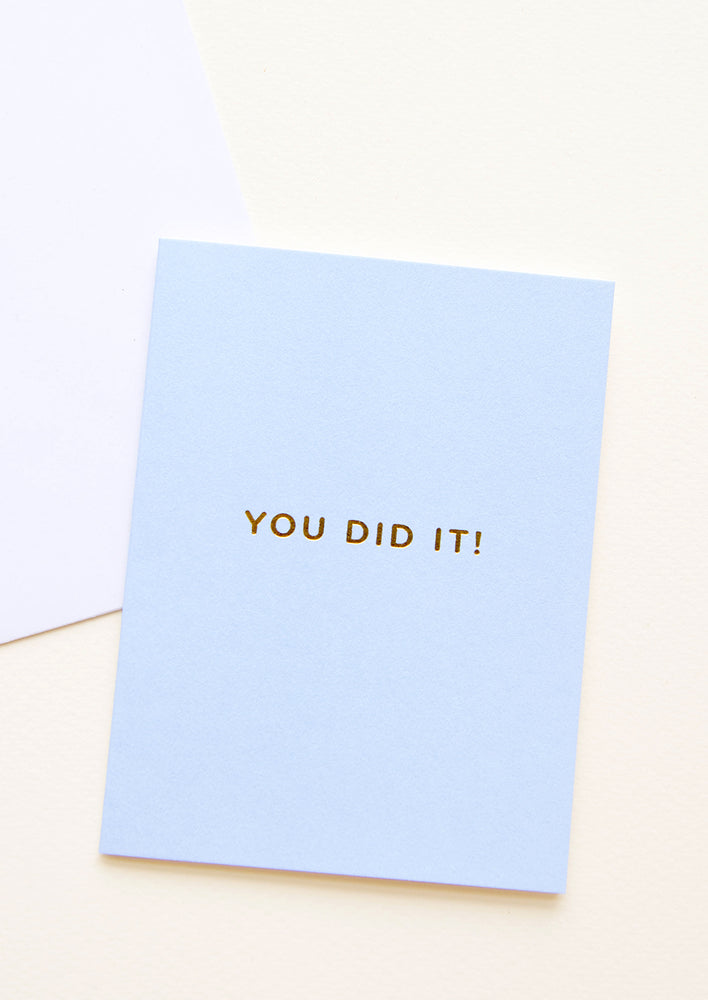 1: You Did It! Card in  - LEIF