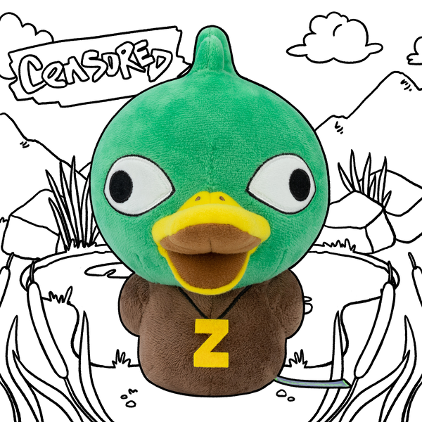 Censor Duck Plush