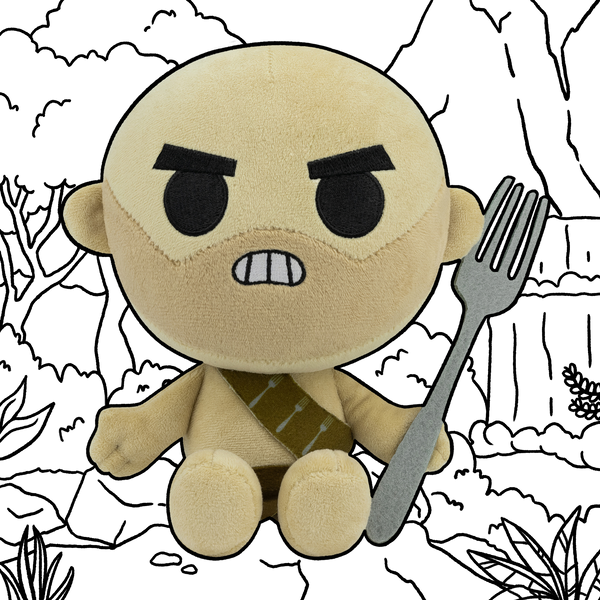 Fork Barbarian Plush