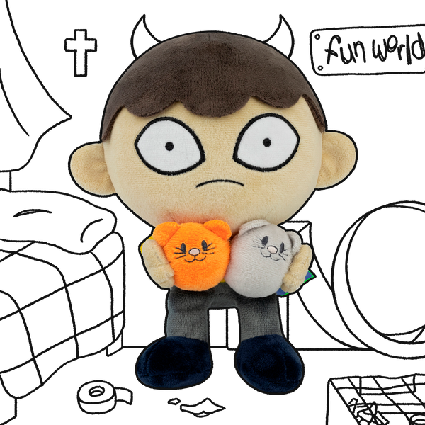 Hamster Hell Boy Plush