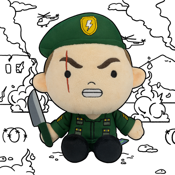 Major Mike Plush
