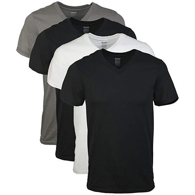V-Neck T-Shirts(3pcs)