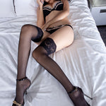 Sexy lingerie lace lace lures silk stockings
