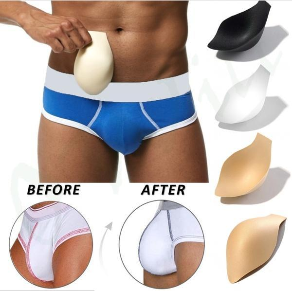 4b7fe8b9978 DORIRY Men s Hip Up Padded Front Push Up Underwear Solid 4 Colors Cotton  Spandex Thermal Briefs