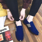 Casual breathable lazy canvas peas shoes