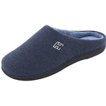 Men's and Women's Classic Memory Foam Plush House Slippers