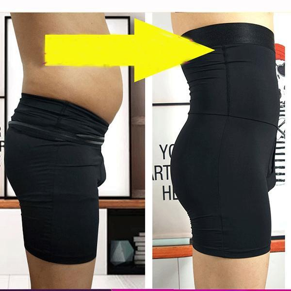 Men's Underwear High Waist Body Shaper