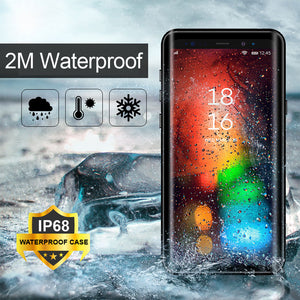 Waterproof Shockproof Case For Samsung Galaxy Note 9 S9 Plus Hybrid Full Body Protective Phone Cases