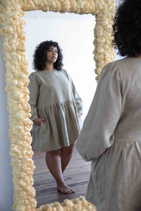 Linen PJ Set in Clay