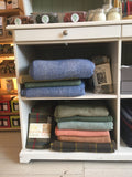 handmade blankets at Made in Stroud shop