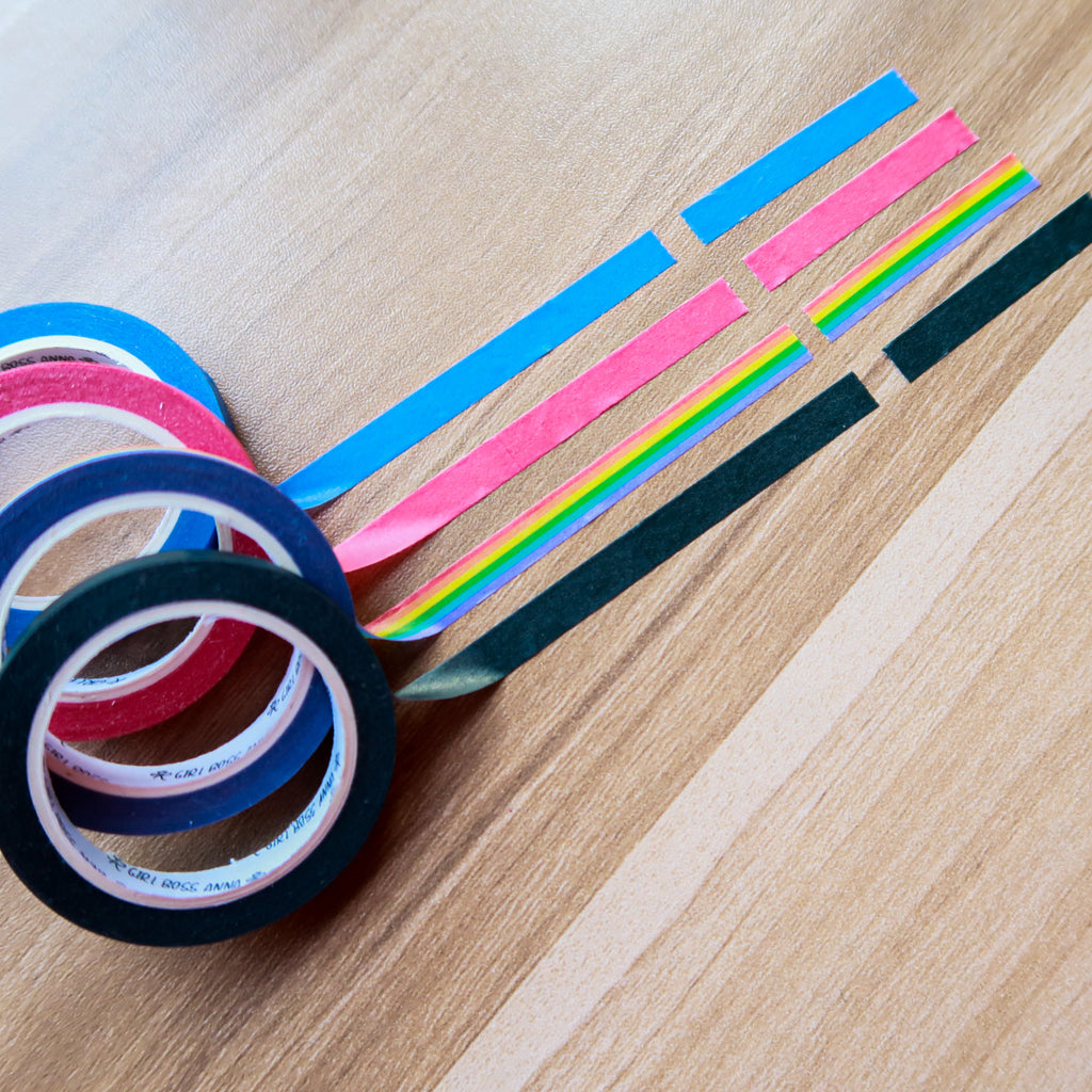 6mm Washi Header Tapes