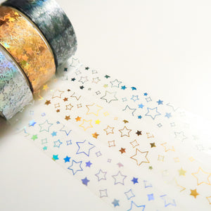 15mm Stars Overlay Tapes