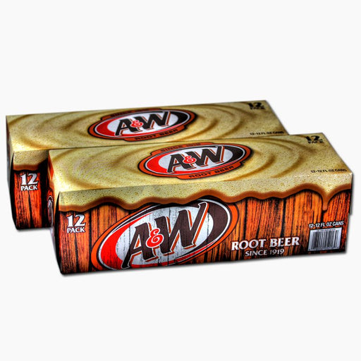 A&W Root Beer (Dose) (355 ml) (24er)