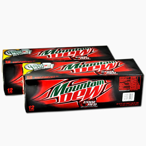 Mountain Dew Code Red (Dose) (355 ml) (24er)