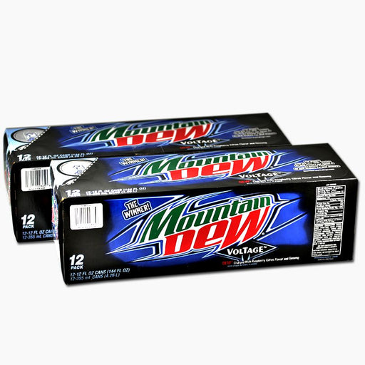 Mountain Dew Voltage (Dose) (355 ml) (24er)
