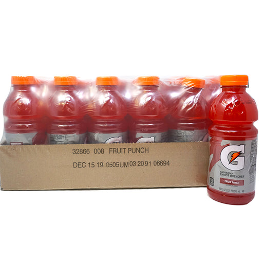 Gatorade Fruit Punch (591 ml.) (24er)