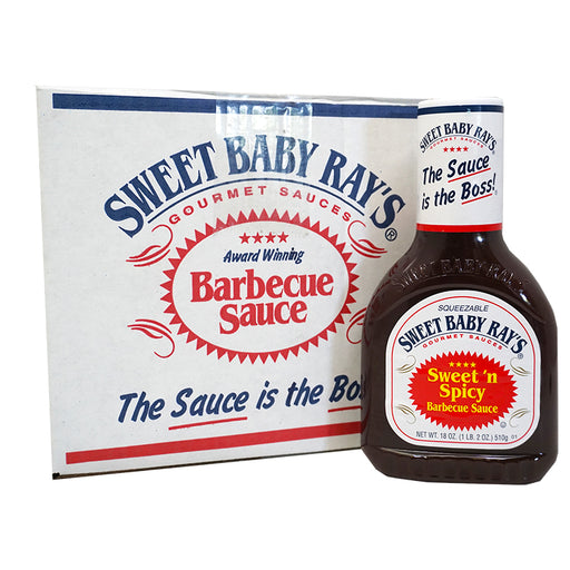 Sweet Baby Ray's BBQ - Sweet 'n Spicy (18 OZ) 12er