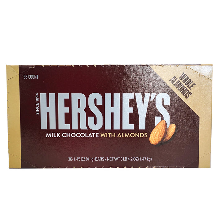 Hershey's Bar Milk Chocolate&Almonds (43 g) (36er)