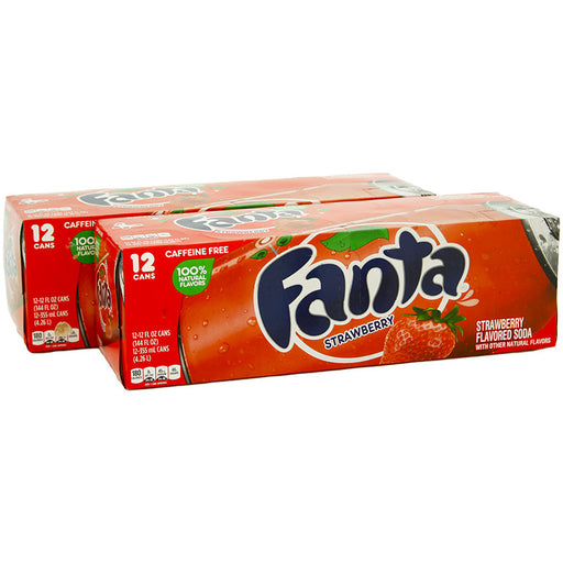 Fanta Strawberry (Dose) (355 ml.) (24er)