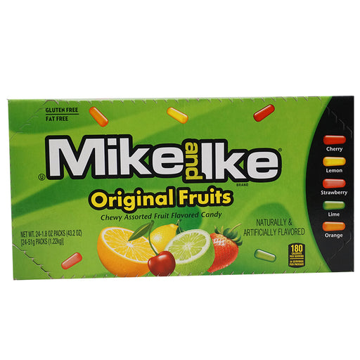 Mike and Ike - Original Fruits (51 g.) 24er