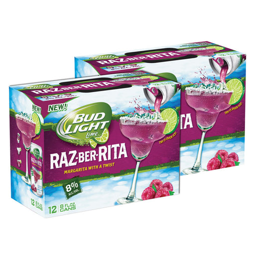 Bud Light - Raz-Ber-Rita (Dose) (273 ml) (24er)