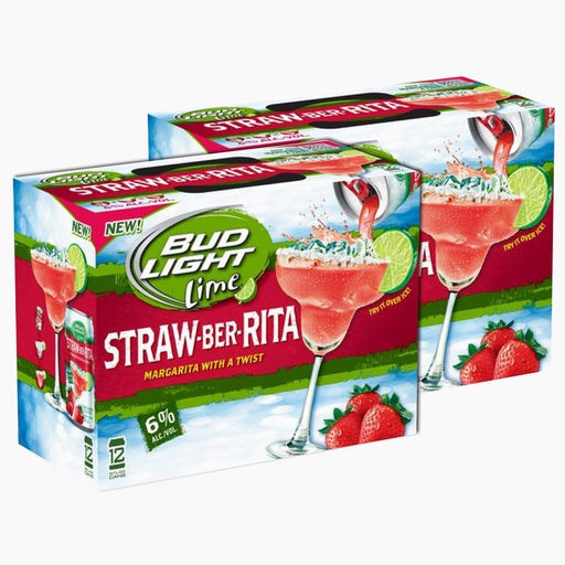 Bud Light - Straw-Ber-Rita (Dose) (273 ml) (24er)