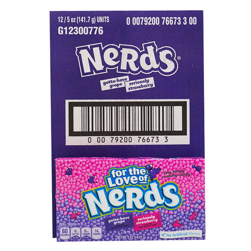 Wonka Nerds - Box Grape&Strawberry (141 g) (12er)