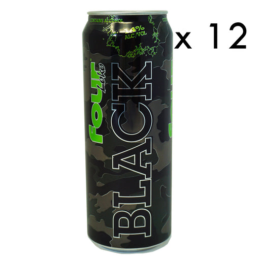Four Loko Black (Dose) (695 ml.) (12er)