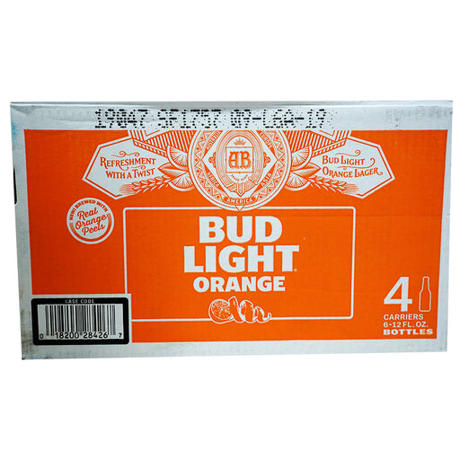 Bud Light Orange (Flasche) (355 ml) (24er)
