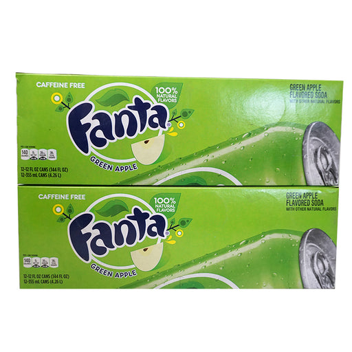 Fanta Green Apple (Dose) (355 ml.) (24er)