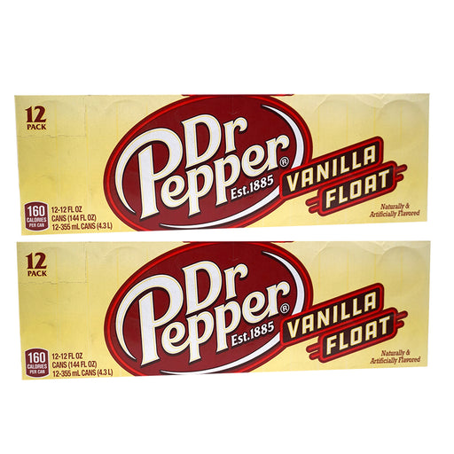 Dr Pepper Vanilla Float (355 ml) (24er)