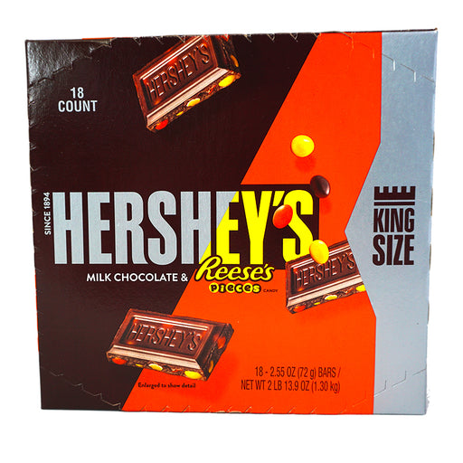 Hershey's Bar Milk Choc & Pieces KS (72 g)(18er)