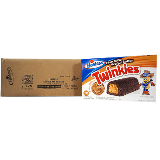 Hostess Twinkies Chocolate PNB (385 g) (6er)