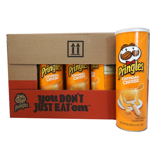 Pringles Cheddar Cheese (158 g) (14er)
