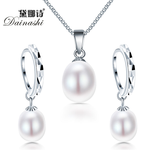 freshwater pearl necklac set