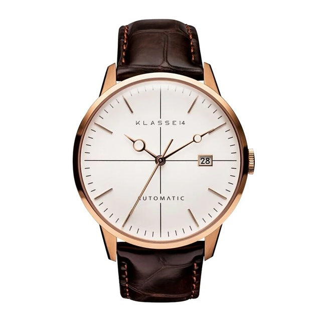 Elite Rose Gold Casual Quartz Watch
